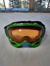 Oakley Snow Goggles Snowboarding Skiing Adjustable green m4