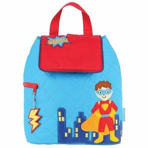 """Stephen Joseph """"Super Hero"""" 100% Cotton Quilted Backpack"""
