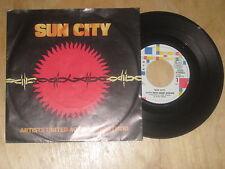 Artists united against Apartheit - Sun City Vinyl  Single