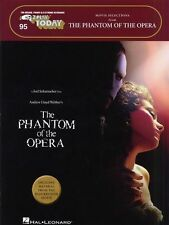 EASY Keyboard Phantom Of The Opera learn to Play Piano Guitar Music Book
