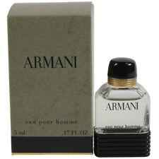 Armani Pour Homme by Giorgio Armani Miniature EDT Cologne Splash 0.17oz NIB