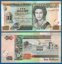 BELIZE  10 Dollars 2007 UNC  P. 68 c