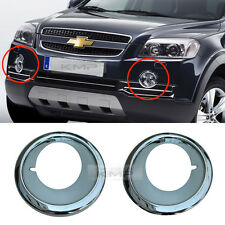 Genuine Parts Chrome Fog Light Cover Set For Chevy 2008-2011 Captiva / Winstorm