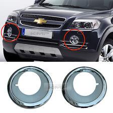 Genuine Parts Chrome Fog Light Cover Set For Chevy 2008-2011 Captiva / Winstorm