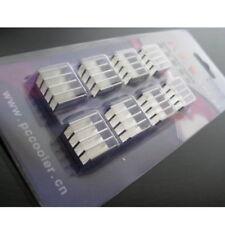 Memoria in alluminio Cooler Dissipatore per RAM DDR ddr2 ddr3-UK Venditore