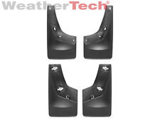 WeatherTech No-Drill MudFlaps - GMC Sierra - 2008-2014 - Front & Rear Set