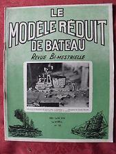 ►Modélisme Le Modèle réduit de Bâteau 58 de 1954 avec plan Porte avion Coral See