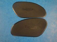 TRIUMPH TANK RUBBER KNEE GRIPS F-5401/2 1963-67 6T T110 TR6 T120 BONNEVILLE
