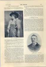 1894 Miss Eleonora Haddon Mr Lewis Ball Opening Tower Bridge