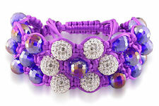 Shamballa Cubic Zirconia Fashion Jewellery