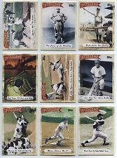2010 Topps Tales Of The Game, Complete Set Of 25 Cards (1-25)