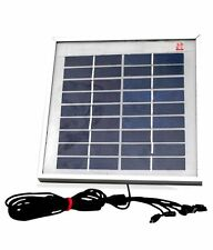 5 Watt Multi purpose Solar Mobile Charger with Solar panel||No Electricity