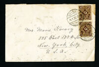 Germany Stamps 1923 Cover Sent to NY