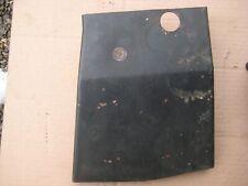 John Deere 140 - muffler heat shield