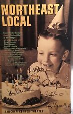 Anthony LaPaglia + Cast Signed NORTHEAST LOCAL Off Broadway Poster