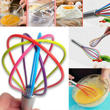 Kitchen Premium Silicone Whisk With Heat Resistant Non-Stick Silicone Whisk Cook