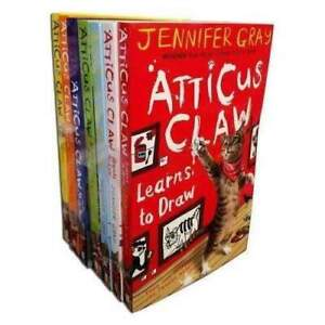 Atticus Claw x 7 Books Set Collection By Jennifer Gray NEW