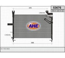 Kondensator Klimaanlage Klimakühler KIA Pride AHE  53676