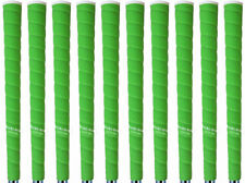Tacki Mac Tour Pro Plus NEON Green Standard Size Golf Grips - Set of 10 - NEW