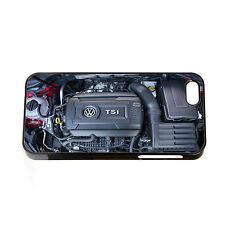 VW Golf GTI Motor Bay Funda de teléfono se ajusta IPHONE 4 4S 5 5S 5C 6 6S Polo R32 TDI
