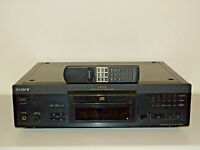 Sony CDP-XA2ES High-End CD-Player / Schwarz / inkl. Fernbedienung 2J.Garantie