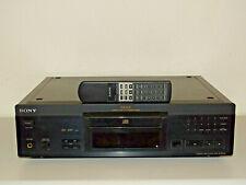 Sony CDP-XA2ES High-End CD-Player / Schwarz / inkl. Fernbedienung 2J.Garantie