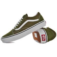 Khaki green vans old skool olive green ladies footwear off