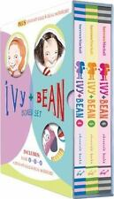 Ivy and Bean Boxed Set 2 Books 4-6 Paperback 2 Stand up Dolls Stick & Peel