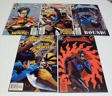 Nightwing #55 #56 #57 #58 & #59 - lot of 5 DC Comics 2001