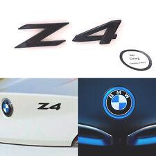 BMW BLACK Z4 BADGE Z4 Boot Badge Gloss Black Z4 Black Badge