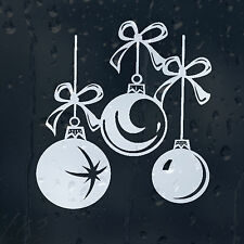 Merry Christmas Decorations Car Decal Vinyl Sticker For Window Bumper Panel Wall