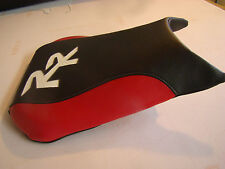 HONDA 2005/06 CBR600RR RIDER SEAT COVER BLACK/RED/WHITE