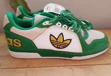 vintage retro adidas ecstasy low green gold trefoil UK 9