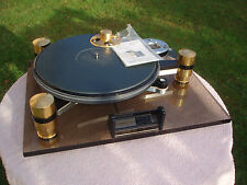 Oracle Delphi Turntable MKII.7 Gold/Black Double Subchassis + DIY Maglev Spindle