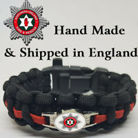 Northern Ireland Fire and Rescue Service Badged Survival Bracelet Tactical Edge.