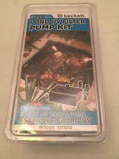 Beckett MC130UV - 130 GPH Pond UV Filter Pump Kit Submersible 7215510 NEW