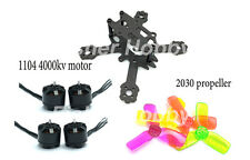Micro ELF 88mm 88 Carbon Fiber FPV Racing Frame Kit 1104 4000KV motor 2030 Prop