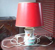 Lampe de chevet avec pied en porcelaine