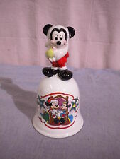 Schmid Merry Mickey Claus #2220 Limited Edition Bell