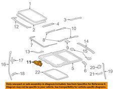TOYOTA OEM 02-03 Camry Sunroof Moon Roof-Motor 63260AA020
