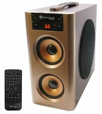 AudioBLUE- Rockville Bluetooth Home Theater Powered Speaker System w/ USB/FM