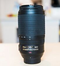Nikon Zoom-NIKKOR 70-300mm f/4.5-5.6 G SWM AF-S VR IF ED M/A Lens