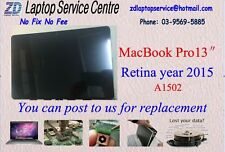 """Screen Display for Apple Macbook Pro 13"""" A1502 Retina year 2015 replacement"""