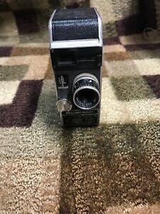 Bolex L8 8mm Motion Picture Cine Camera with Yvar 2.8 12.5 mm Lens