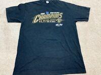 New Orleans Saints NFL Super Bowl XLIV T-Shirt Men's Size Medium Black