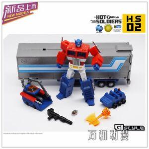 New Toys Hot Soldiers HS-02 Optimus Prime mini Transform Robot Action figure