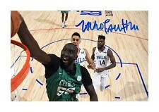 More details for tacko fall 1 boston celtics nba a4 reproduction signed poster choice of frame