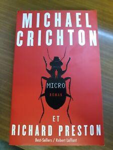 Michael Crichton MICRO ROMAN