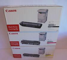 Original Canon Toner Cartridge G EP-82 black magenta yellow f. CP660 CP-660 NEU