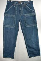 G Unit Denim Mens Jeans 50 Cent Hip Hop Relaxed Baggy Size 34x34 Meas. 33x33